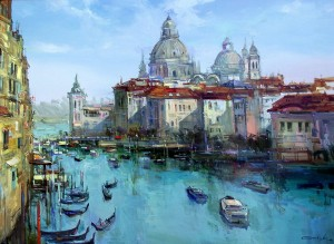 Venice, oil on canvas