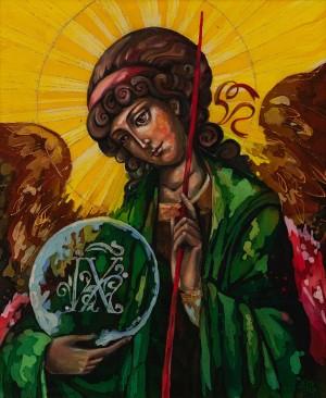 A. Honcharova-Tsivinska 'Archangel Gabriel'