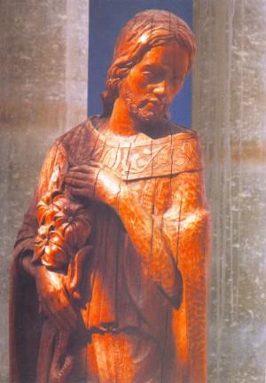 Святий Йосип, 2003, дерево, 200х70х70