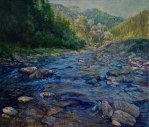 M. Puhlyk-Belen. Synevyr Stream, 2017 (2)