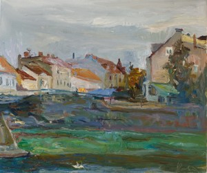 Anastasiia Ivanova. Cityscape. 2016