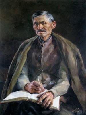 Муй нянько, 1954, п.о. 80х60