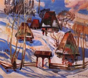 Зимовий ранок, 1977, п.о. 75х80