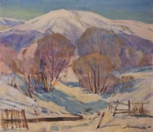 Зимовий ранок, 1988, п.о. 69х79