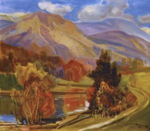 Золота осінь, 1979, п.о. 75х80
