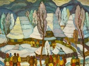 Верховинська зима, 1975