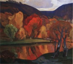 Золота осінь, 1984, п.о. 65х73