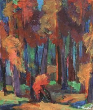 Ліс, 2015, к.а. 38,3х32