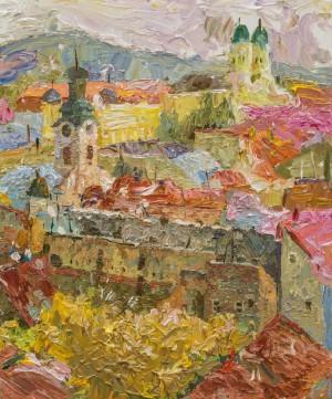 Valeriia Isaieva. Cityscape. 2017. 50х60