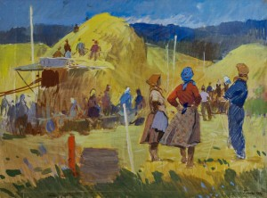 Threshing, 1958