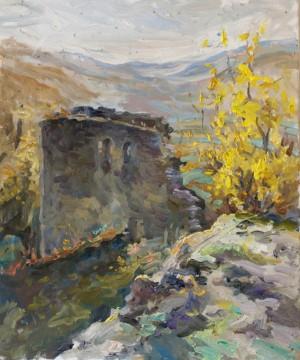 Valeriia Isaieva. Landscape. 2016
