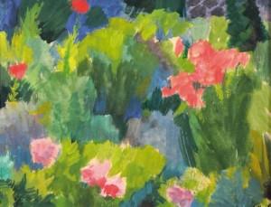 Літня клумба,2009, к.т. 48х62,5
