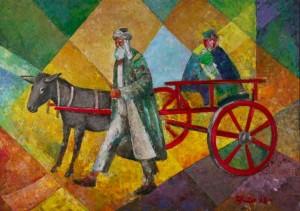 'По дорозі додому', 2008, 84х122