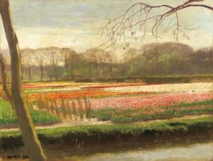 Untitled, 1923, oil on cardboard, 41,5х54