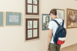 "EXHIBITION ""GRAPHICS-DRAWING"""