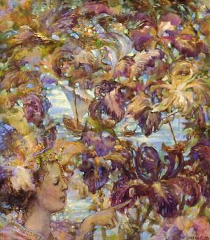 Iris, 1998, 75x65