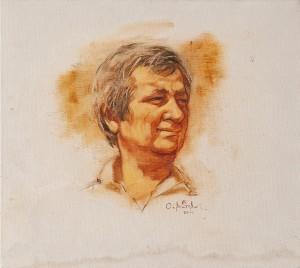 O. Voitovych 'Portrait of I. Didyk'