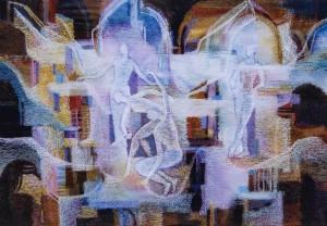 Грації, 2002, ват.паст., 41х59