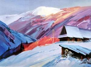 Зимовий вечір, 2001, орг.о.