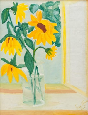 'Still Life With Sunflowers', 1965