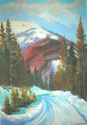 Verkhovyna, 2010, oil on canvas, 60х80