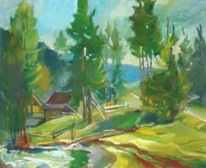 Синевирська Поляна, 2014, п.о., 50х70