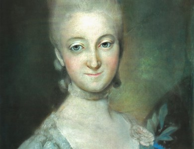 Unknown artist Female portrait