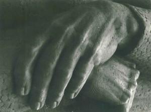 Дипломна робота Лісоруб (Фрагмент) 1986, мідь, 3 м