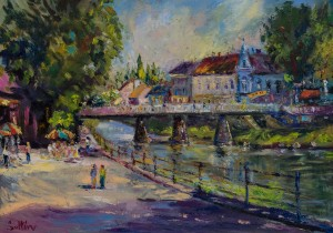 P. Sholtes Bridge over the Uzh river 2016