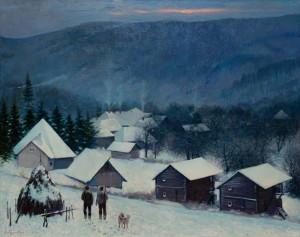 Слободський В. 'Зима'