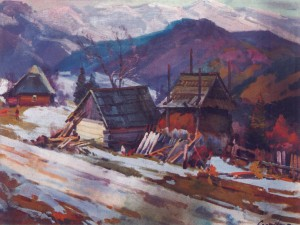 Кам'янка,1987, 60х80