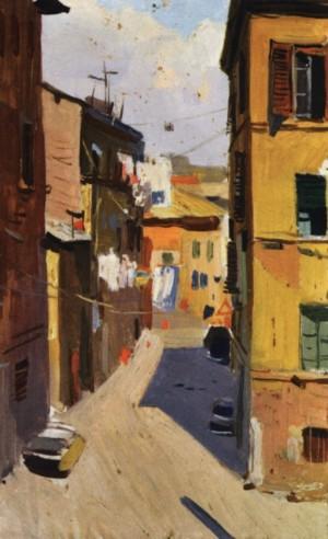 Італійська вуличка, 1964, к.о. 35х22