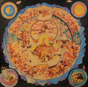 Коляди, 1969, к.т.гуаш, 83х86