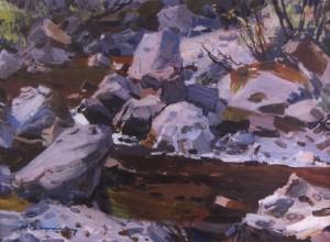 Кам'янецький потік, поч. 1960-х, к.о. 39х54