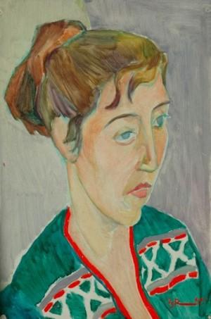 'Портрет', 1960, 50х35