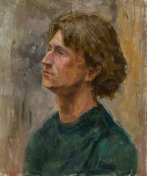 Maksym Korpanets. Portrait. 2017. 50х60