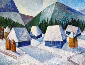 'Початок зими', 2006, 60х80