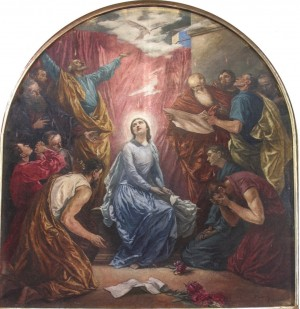 Descent Of The Holy Spirit, 1936, oil on canvas, 200x180