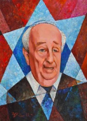 Rabbi', 2011, 80x60
