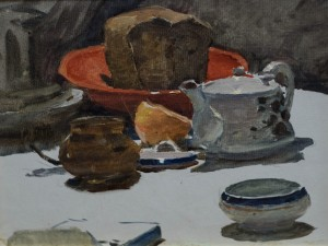 Still Life With Bread, 1953