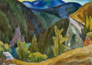 Куточок національного парку «Словацький рай», 1983, п.о. 35,5х50