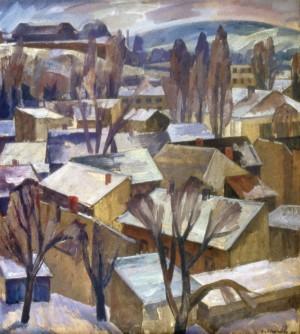 Куток Ужгорода, 1985, п.о. 90х80