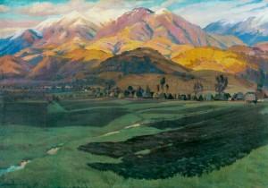 Край Миколи Шугая, 1958, п.о. 98х137
