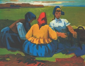 Lunch, 1975, oil on canvas, 104х135