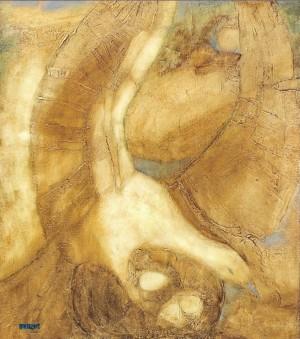 Bird. Rebirth, 2008, oil on canvas,80x70