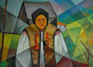 Rusyn Woman', 1963, 49x68