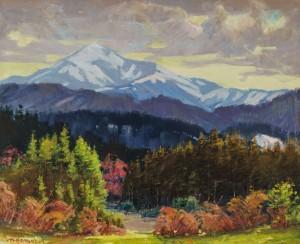V. M. Brenzovych, Hoverla mountain