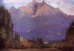 Високі татри, 1993, к.о., 50х70
