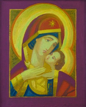 M. Hresko, Blessed Virgin of tenderness