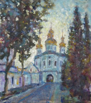 Kyivo-Pecherska Lavra. All Saints Church. 2013, 25х22